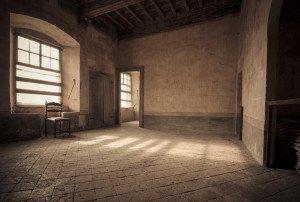 Salone del castello di Roddi